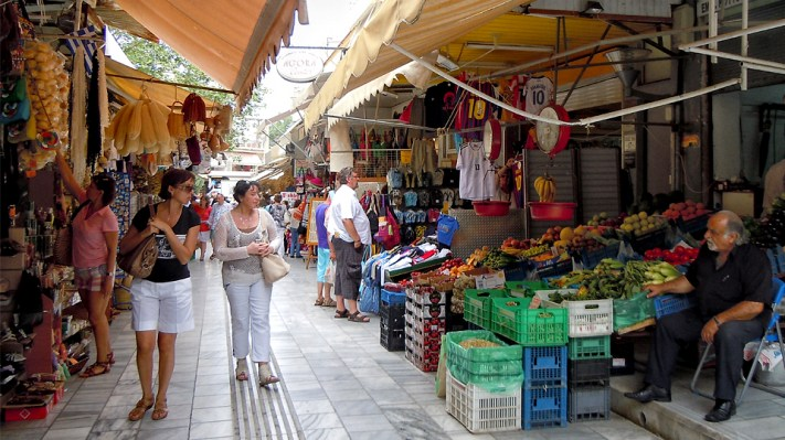 Old market, Heraklion, Crete