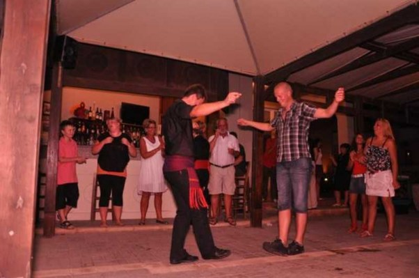 Cretan Night Dancing