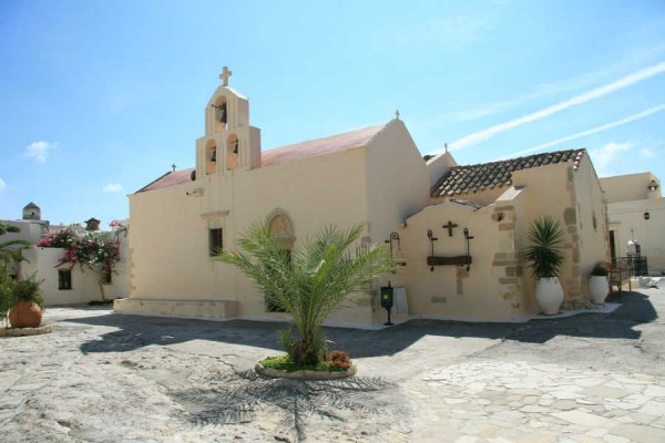 Monastery of Odigitrias in Crete