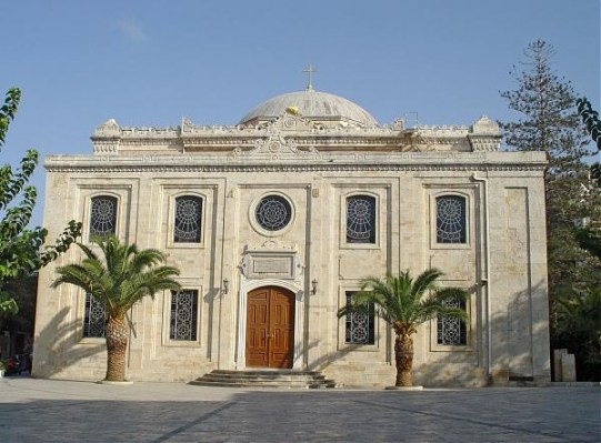 Agios Titos Church in the centre of Heraklion, Crete