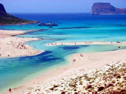 Pink Sand, Exotic Beach, Elafonisi, Chania, Crete